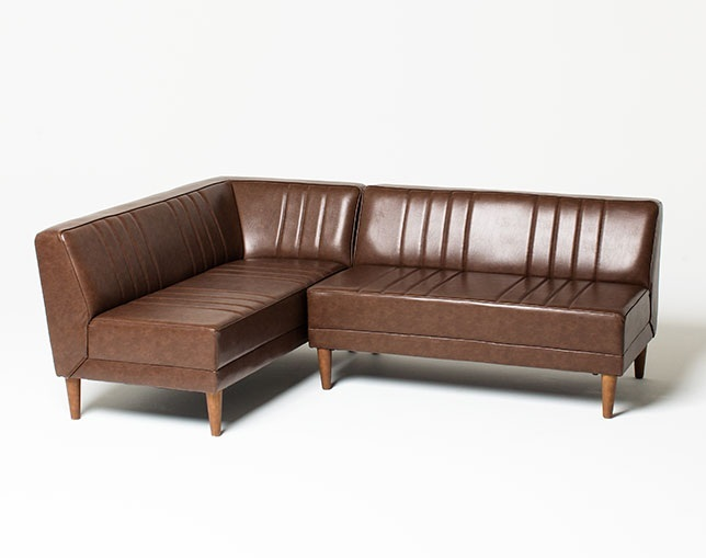 niko and ... FURNITURE & SUPPLY CLASSIC DINER COUCH L / R SOFAの写真