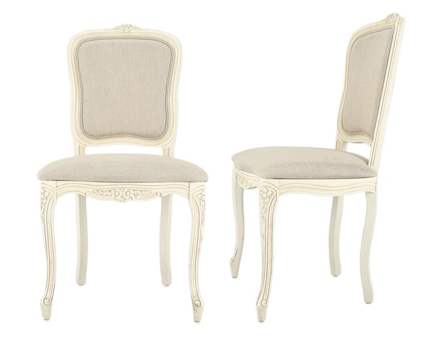 LAURA ASHLEY Provencale upholstered dining chairのメイン写真