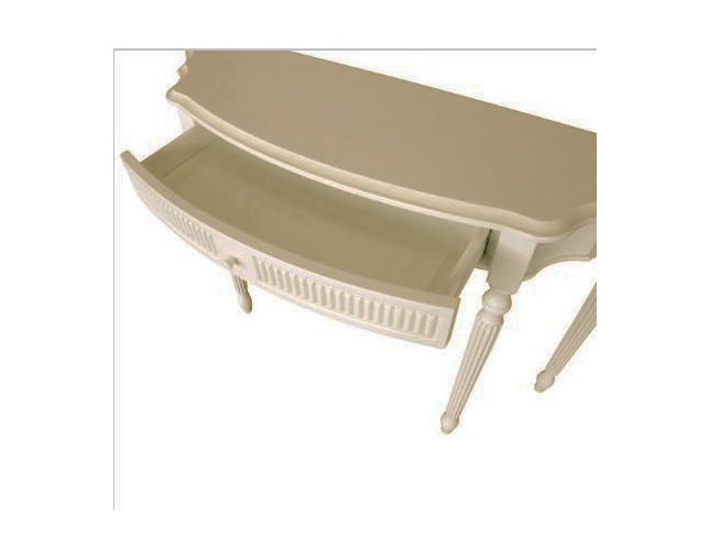 LAURA ASHLEY Provencale 1 drawer console tableのメイン写真