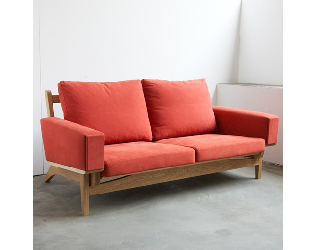 greeniche newnormal Low Sofa 2Pの写真