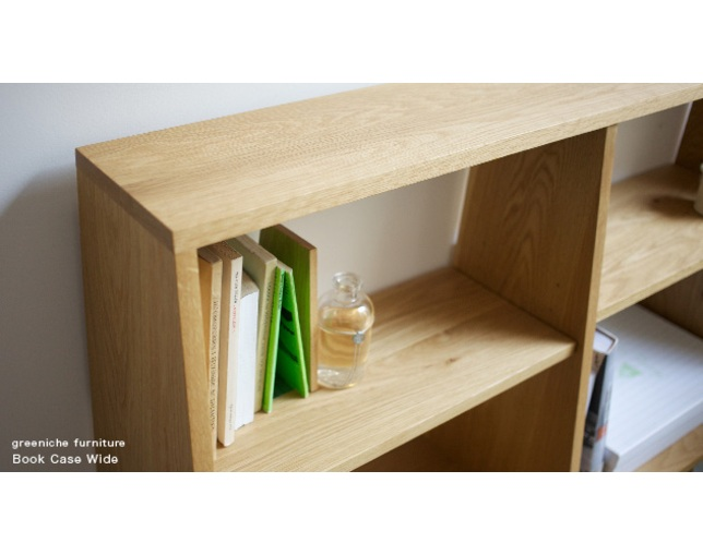 greeniche bookcase wideの写真