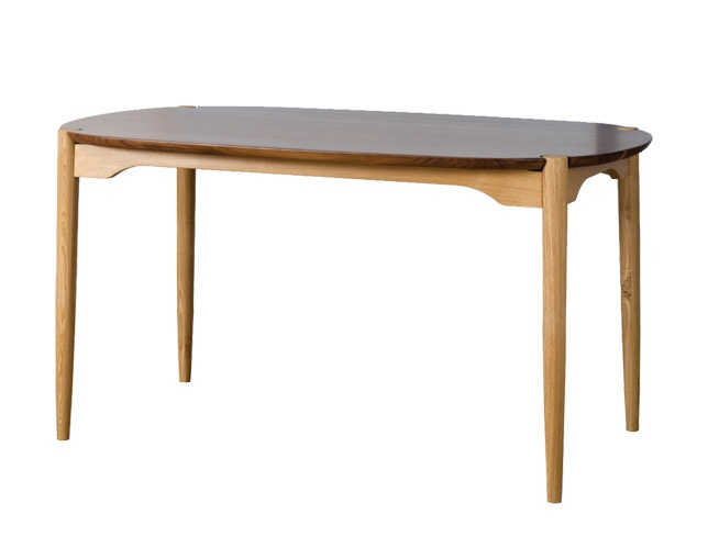 D VECTOR PROJECT KOZUE DINING TABLE 135のメイン写真