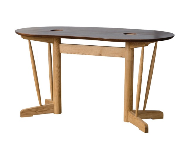 D VECTOR PROJECT KOZUE DINING TABLE 135 -ROUNDの写真