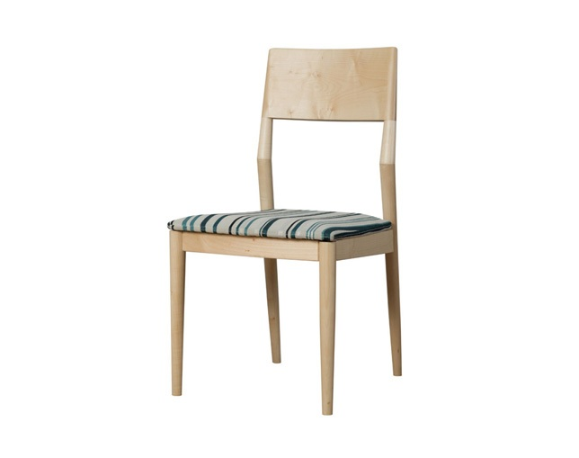 D VECTOR PROJECT FACILE DINING CHAIR STRIPEのメイン写真