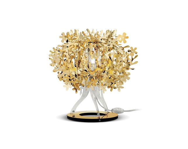SLAMP FIORELLA TABLE LAMP (GOLD)のメイン写真