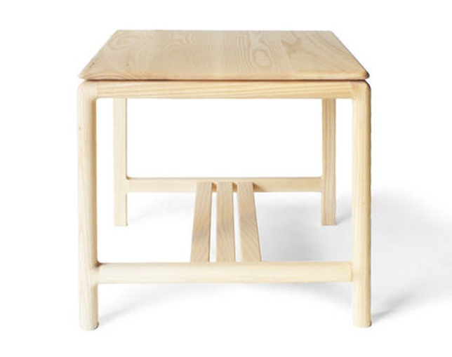ANP interior design Superfly Table(Wild Cherry/White Ash)のメイン写真