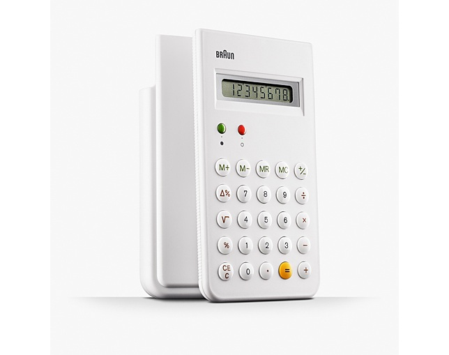 BRAUN BRAUN Calculator  BNE001のメイン写真